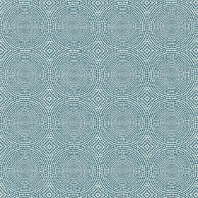 Tissu Scion Collection Spirit Weaves - Kateri Teal - 136 cm - Tissus ameublement