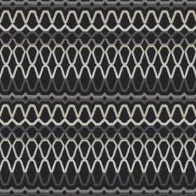 Tissu Scion Collection Spirit Fabrics - Ada Ebony/Slate/Silver - 140 cm