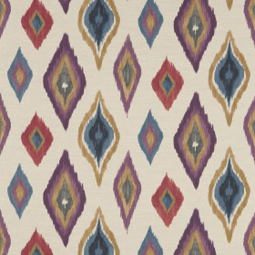 Tissu Scion Collection Spirit Fabrics - Amala Amber/Amethyst/Slate - 137 cm