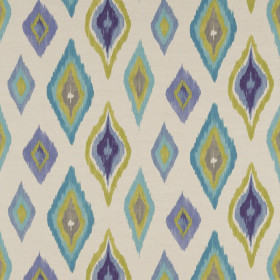 Tissu Scion Collection Spirit Fabrics - Amala Azure/Lime/Taupe - 137 cm