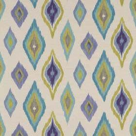 Tissu Scion Collection Spirit Fabrics - Amala Azure/Lime/Taupe - 137 cm