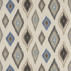 Tissu Scion Collection Spirit Fabrics - Amala Denim/Powder/Stone - 137 cm