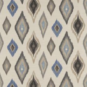 Tissu Scion Collection Spirit Fabrics - Amala Denim/Powder/Stone - 137 cm