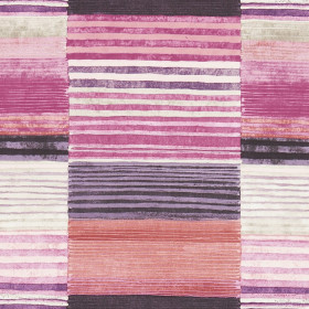 Tissu Scion Collection Spirit Fabrics - Medini Peony/Plum/Putty - 137 cm