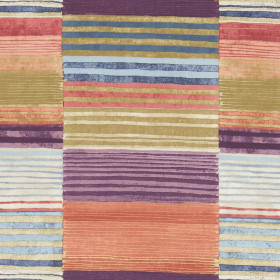 Tissu Scion Collection Spirit Fabrics - Medini Chilli/Gold/Amethyst - 137 cm
