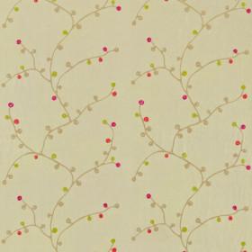 Tissu Scion Collection Melinki One - Hemp/Linen/Fuchsia/Lime/Cherry - 132 cm