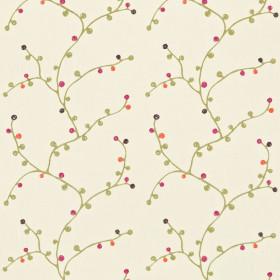 Tissu Scion Collection Melinki One - Baca Linen/Linden/Plum/Tangerine/Fuchsia - 132 cm