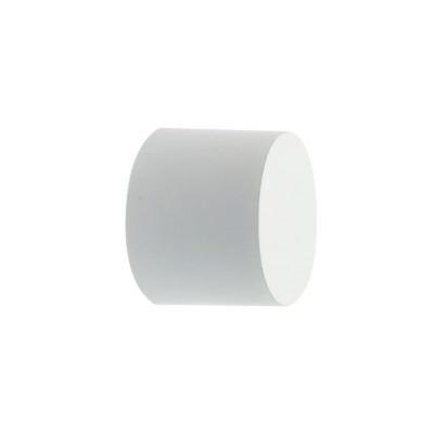 Embout Bouchon Blanc pour tringle à rideaux Ø19 mm, à l'unité
