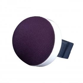 Bracelet porte épingles avec ruban auto-agrippant violet - Mercerie