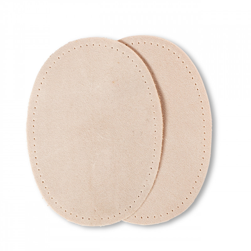2 Renforts de coude thermocollants imitation daim 10 cm x 14 cm - Mercerie