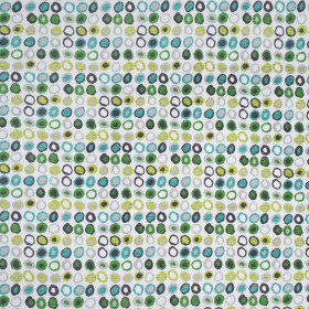 Tissu Casal - Collection Omega - Pomme Turquoise - 140 cm