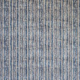 Tissu Casal - Collection Sao Paulo - Bleu Chardon - 138 cm - Tissus ameublement