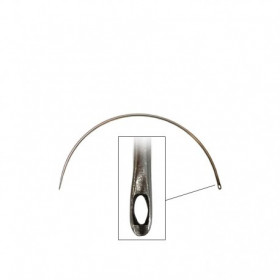 Carrelet courbe fin 80mm - Chas latéral - Outils tapissier