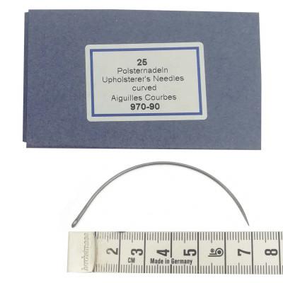 Carrelets courbes 90mm Par 25 - Chas latéral