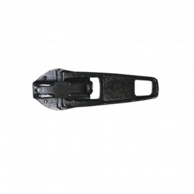 Curseur pour fermeture à glissière 4mm Noir - Par 100 - Mercerie