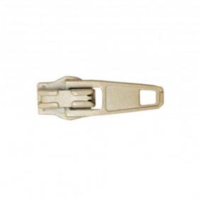 Curseur pour fermeture à glissière 4mm écru - Par 100 - Mercerie