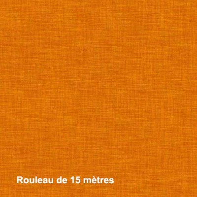 Tissu Noctea Mercury Non Feu M1 310g/m2 Safran, le rouleau de 15 mètres