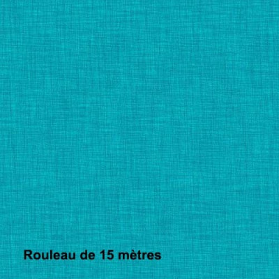 Tissu Noctea Mercury Non Feu M1 310g/m2 Turquoise, le rouleau de 15 mètres