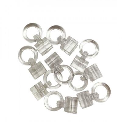 Anneau clips pour jonc 4mm - Par 100 - Habillage de la fenêtre