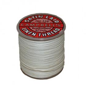 Fil de lin 332 Blanc, bobine de 50g - Mercerie