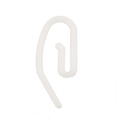 Agrafes escargot plastique - Par 20