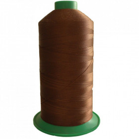 Bobine de fil ONYX N°20 (51) Marron 263 - 2000 ml - Mercerie
