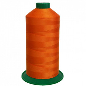 Bobine de fil ONYX N°20 (51) Orange 3516 - 2000 ml - Mercerie