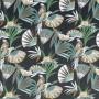Tissu Camengo - Collection Amazone - Quetzal velvet Vert - 136cm