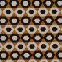 Tissu Camengo - Collection Elite - Excentricité Cognac - 142cm