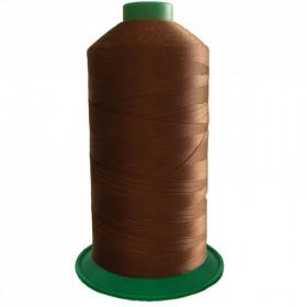 Bobine de fil ONYX N°30 (61) Marron 263 - 2500 ml - Mercerie