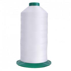 Bobine de fil ONYX N°30 (61) Blanc 2000 - 2500 ml - Mercerie