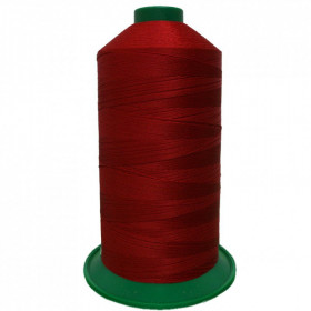 Bobine de fil ONYX N°30 (61) Rouge foncé 2174 - 2500 ml - Mercerie