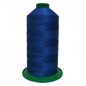 Bobine de fil ONYX N°30 (61) Bleu Roi 2198 - 2500 ml - Mercerie