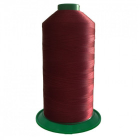 Bobine de fil ONYX N°40 (81) Bordeaux 109 - 4000 ml - Mercerie