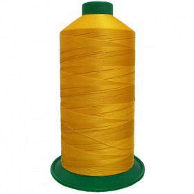 Bobine de fil ONYX N°40 (81) Jaune 3329 - 4000 ml - Mercerie