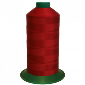 Bobine de fil ONYX N°40 (81) Rouge 510 - 4000 ml - Mercerie