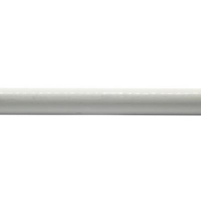 Barre de rideau extensible Blanche 160-300 cm Ø19 mm