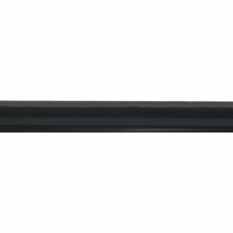 barre de rideau extensible noire 160 300 cm 19 mm. Black Bedroom Furniture Sets. Home Design Ideas