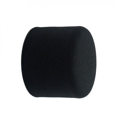 Embout Bouchon Noir pour tringle à rideaux Ø28 mm, à l'unité