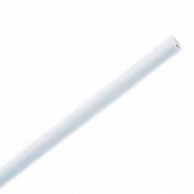 Jonc en acier plastifié Blanc - Ø 3 mm - Longueur de 2 à 3 mètres - Habillage de la fenêtre