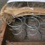Ressort siège 34/10 4 tours 110 mm Galvanisé - Par 100 - Fournitures tapissier