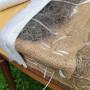 Crin animal cardé gris, les 10 kg - Fournitures tapissier