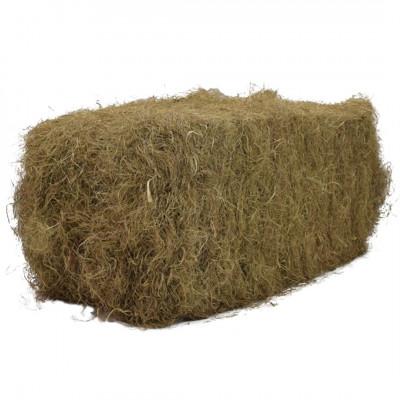 Crin végétal cardé balle de 25 kg