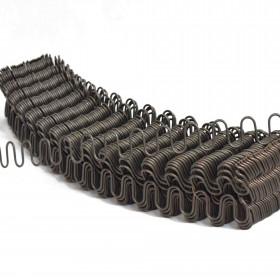 Ressorts Nosag Ø3,8 mm, bande de 64 cm - Par 200 - Fournitures tapissier