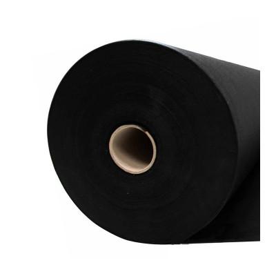 Jaconas non tissé noir 70 g/m² - largeur 60 cm, rouleau de 250m