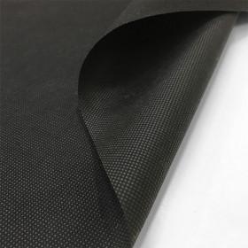 Jaconas non tissé noir 70 g/m² - largeur 90 cm, le mètre - Fournitures tapissier