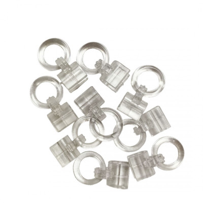 Anneau clips pour jonc 6mm - Par 100