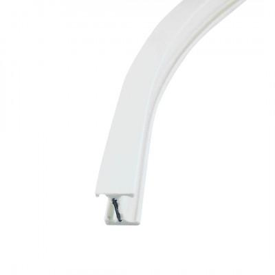 Rail Rideau Flexible blanc, au mètre