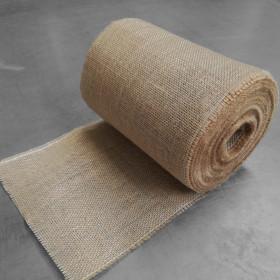 Toile de jute bande de 24 cm, 25 mètres - 280gr/m² - Fournitures tapissier