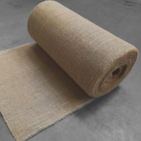 Toile de jute bande de 35 cm, 25 mètres - 280gr/m² - Fournitures tapissier